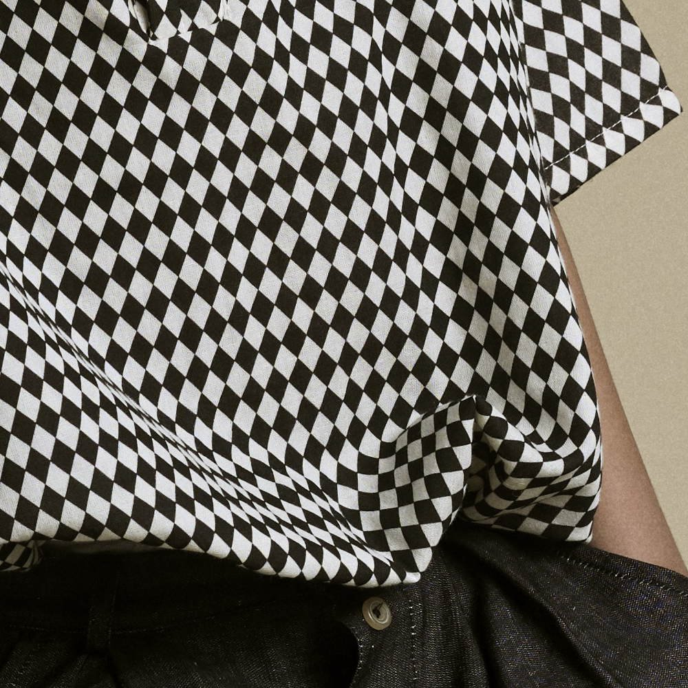 【2月末発送予定】Tiny Diamond Shirt Black img3