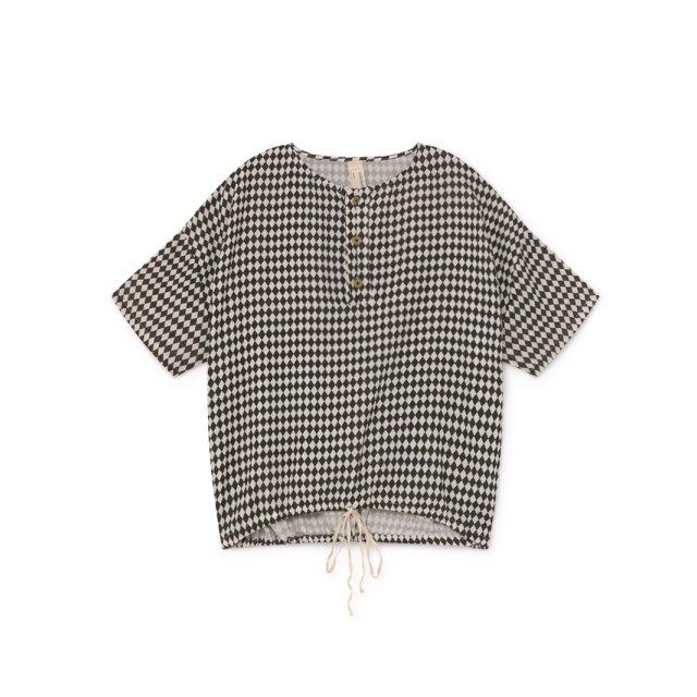 【2月末発送予定】Tiny Diamond Shirt Black img5
