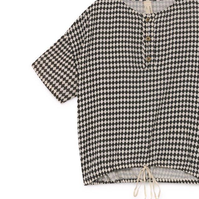 【2月末発送予定】Tiny Diamond Shirt Black img6