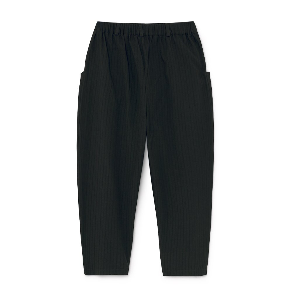 Crushed Cotton Trousers Black img7