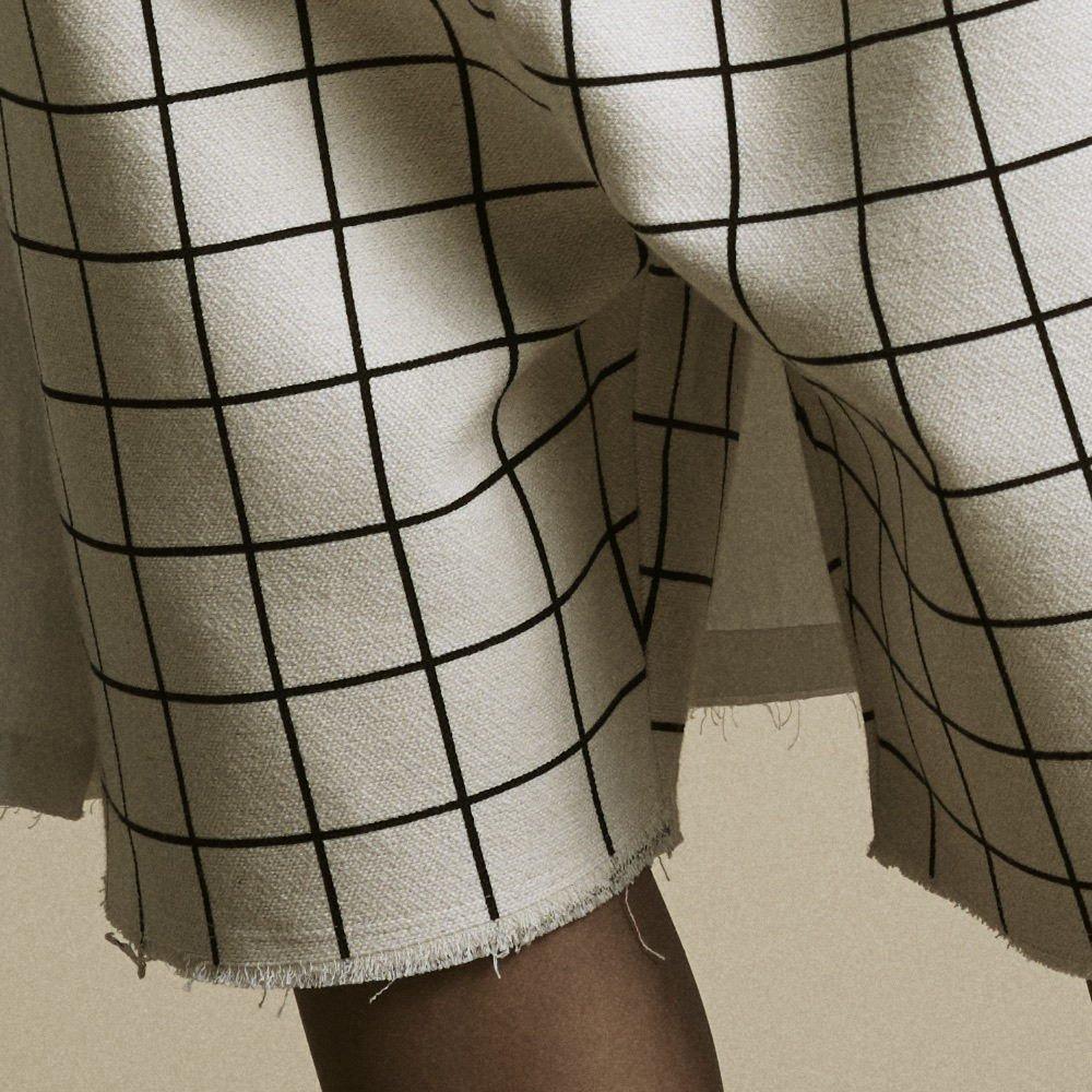 【2月末発送予定】Plaid Shorts Pants Cream img2
