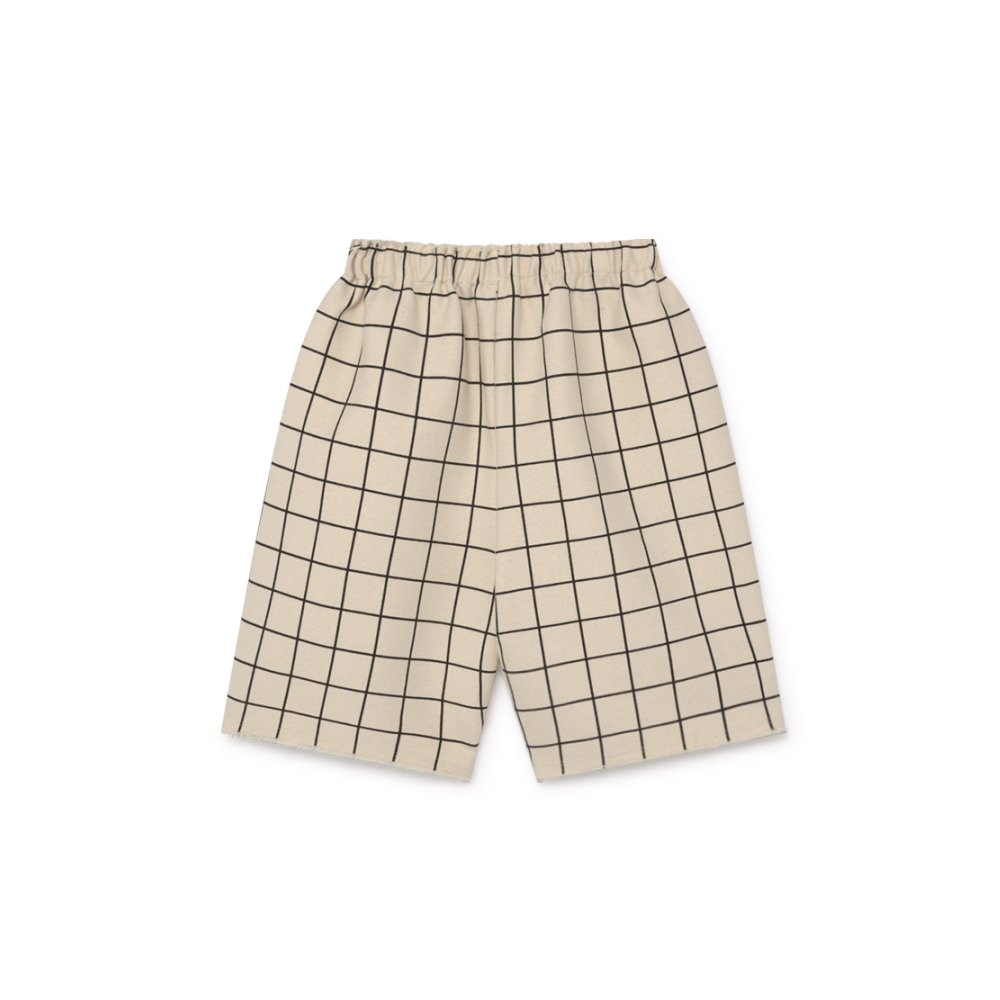 【2月末発送予定】Plaid Shorts Pants Cream img4