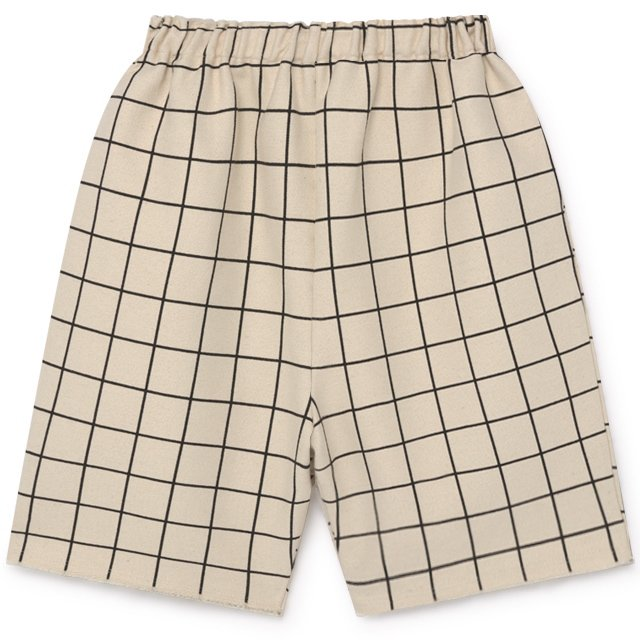 【2月末発送予定】Plaid Shorts Pants Cream img7