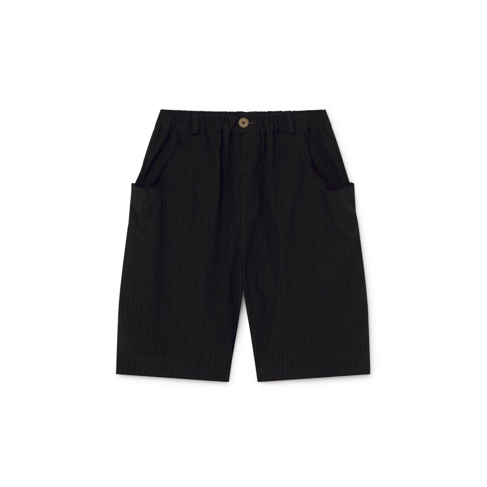【2月末発送予定】Crushed Cotton Shorts Black img4