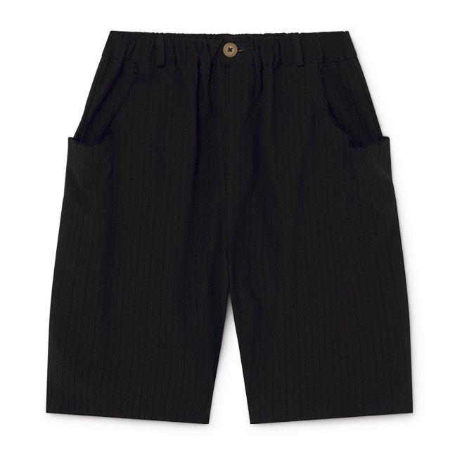 【2月末発送予定】Crushed Cotton Shorts Black img5