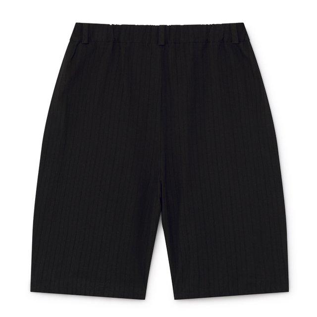【2月末発送予定】Crushed Cotton Shorts Black img6
