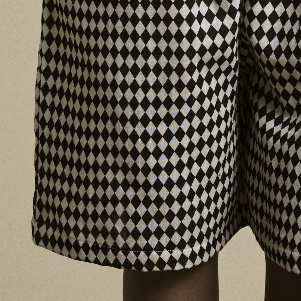 【2月末発送予定】Tiny Diamond Short Pants Black img2