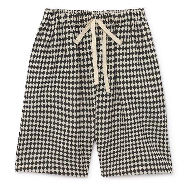 【2月末発送予定】Tiny Diamond Short Pants Black img5