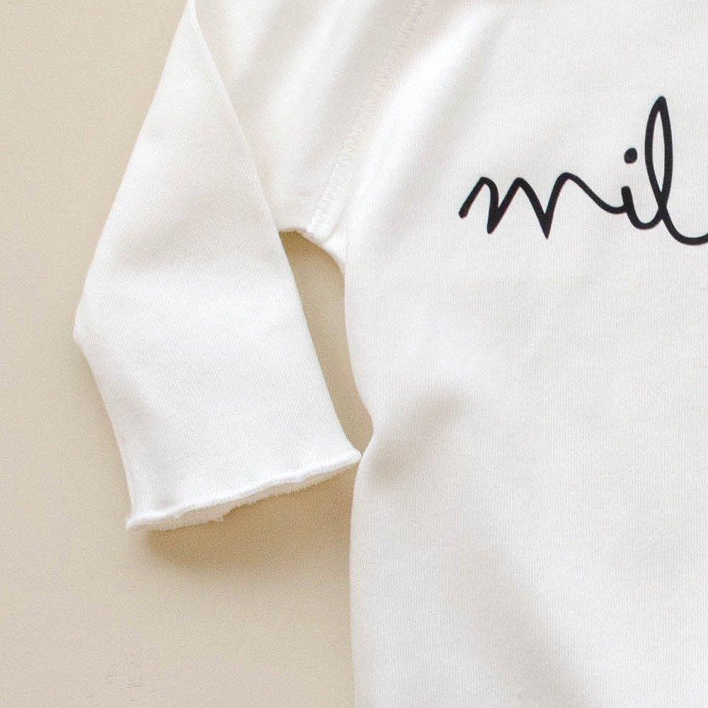 Natural Bodysuit MILK img2