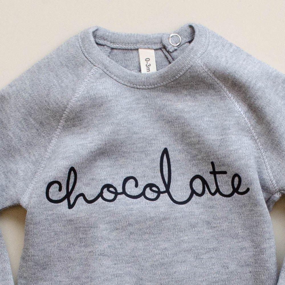 Grey Bodysuit CHOCOLATE img1