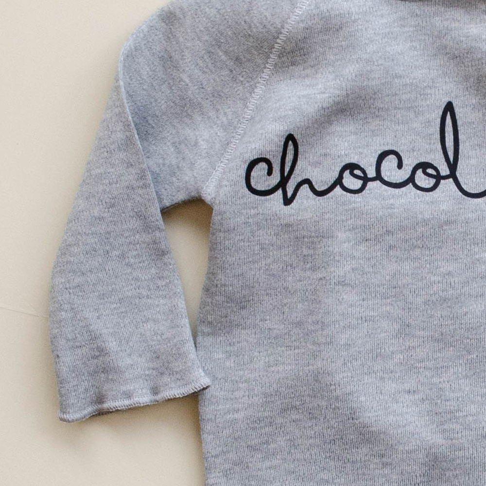 Grey Bodysuit CHOCOLATE img2