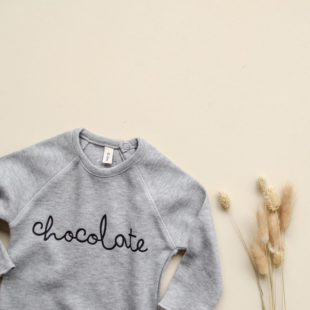 Grey Bodysuit CHOCOLATE img4