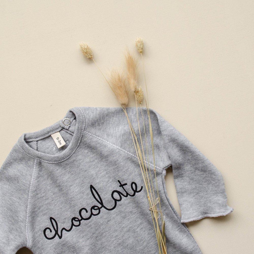 Grey Bodysuit CHOCOLATE img5