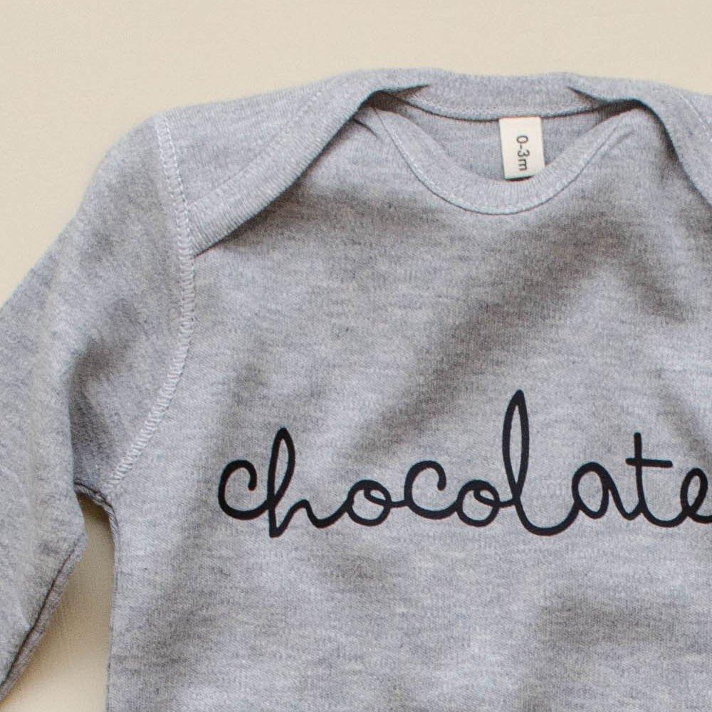 Grey Playsuit CHOCOLATE img1