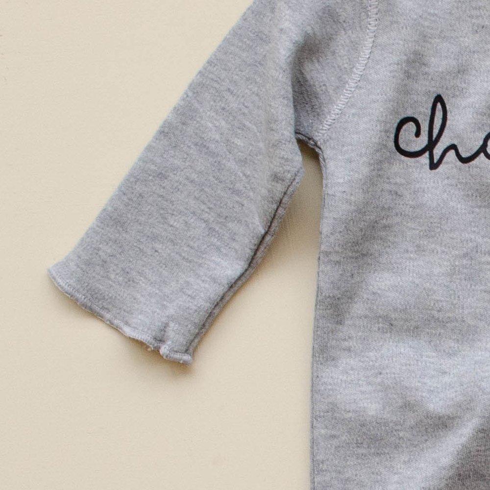 Grey Playsuit CHOCOLATE img2