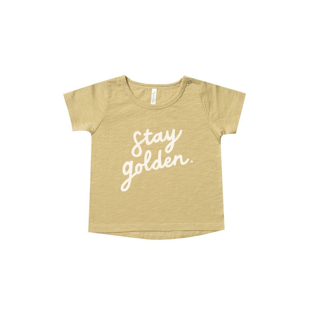 【40%OFF】stay golden basic tee img