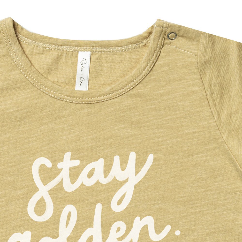 【40%OFF】stay golden basic tee img3