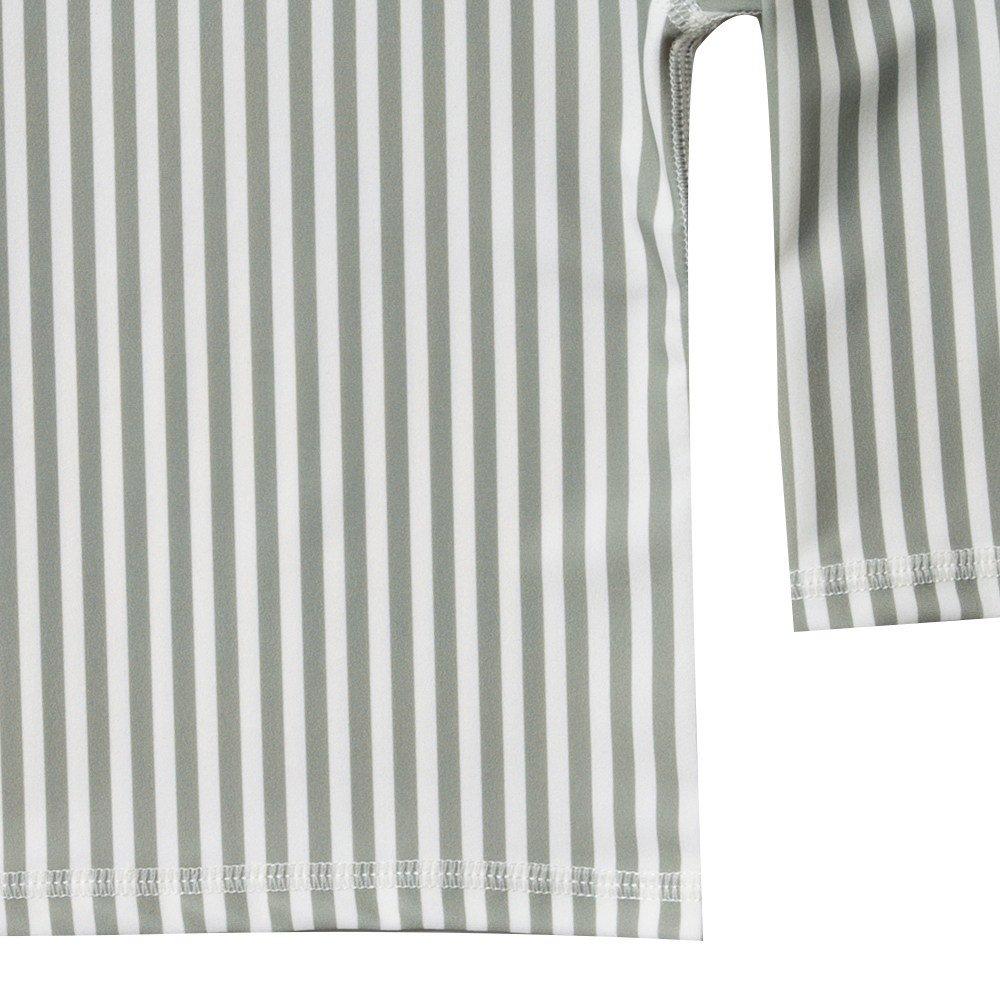 【40%OFF】stripe rashguard swim set img2
