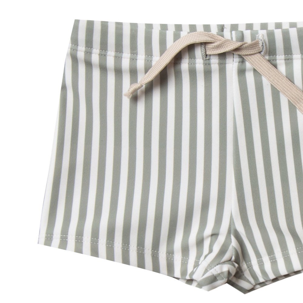 【40%OFF】stripe rashguard swim set img4