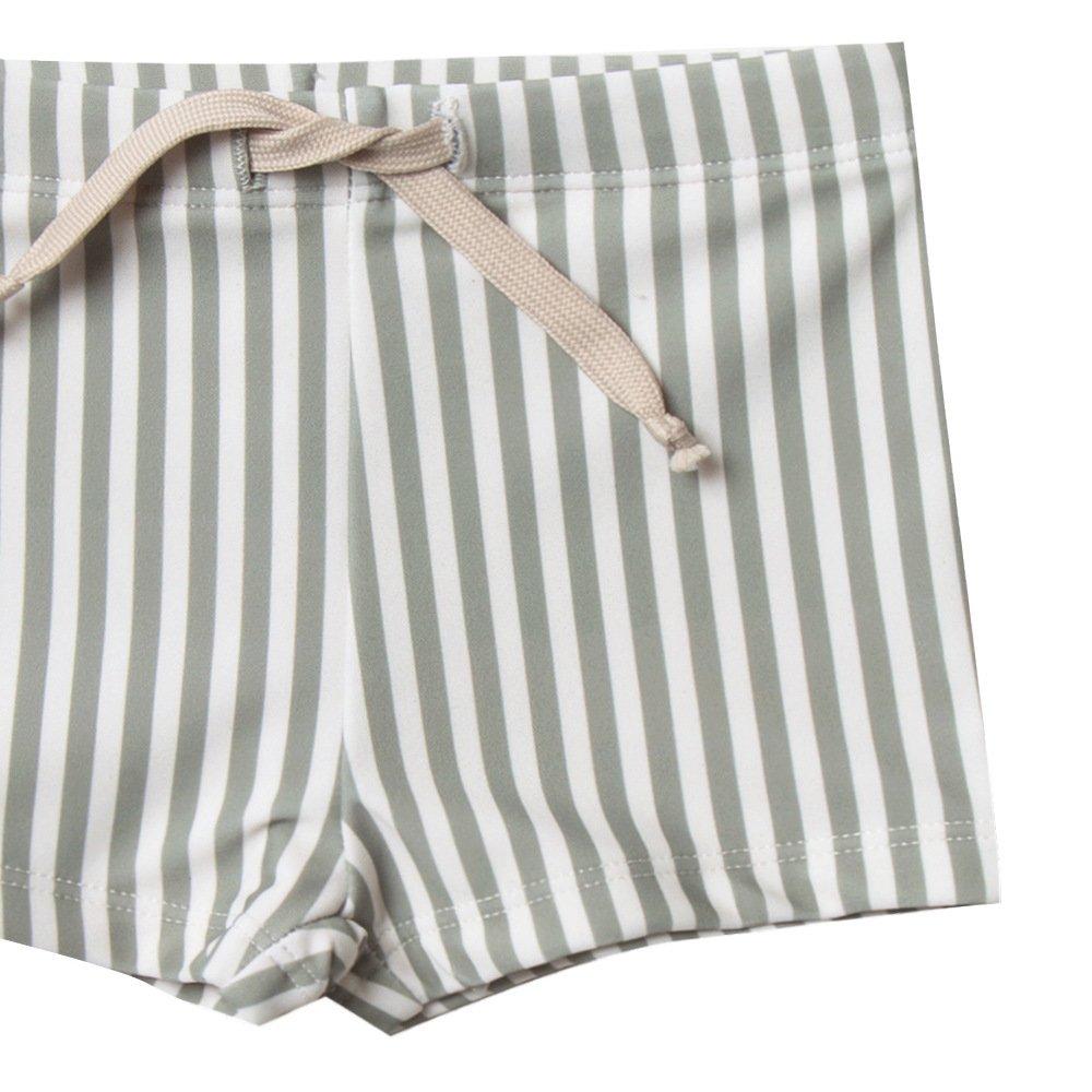 【40%OFF】stripe rashguard swim set img5