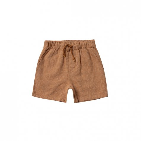 drawstring short bronze