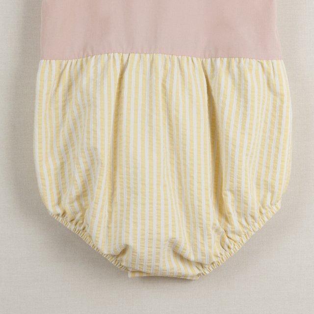 【40%OFF】Pink cutaway sleeve romper suit img6