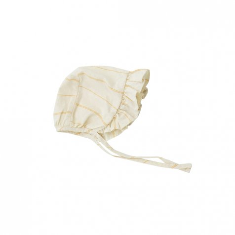 Sun Stripe bonnet Yellow