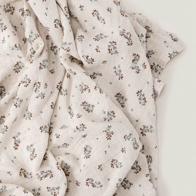 Clover Muslin Swaddle Blanket img4