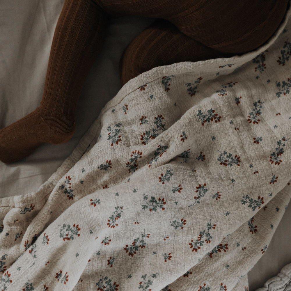 Clover Muslin Swaddle Blanket img6