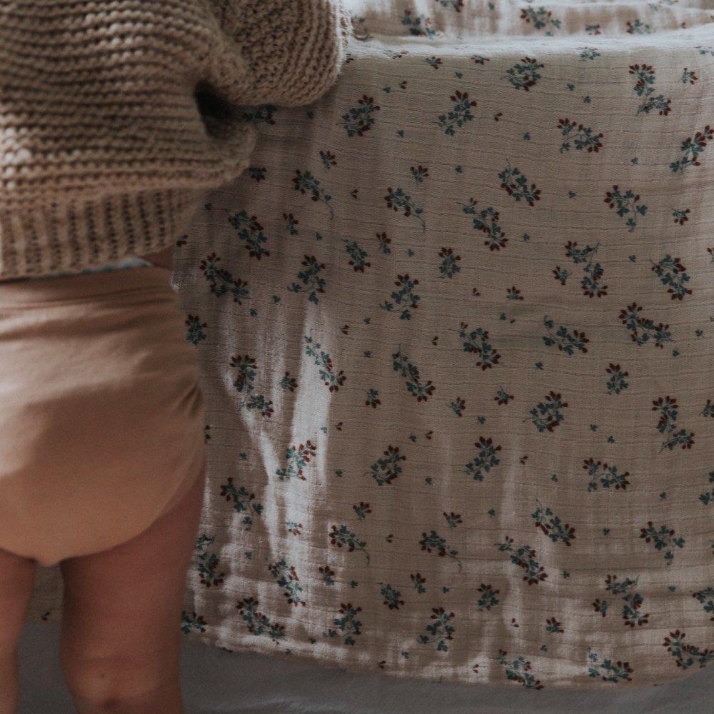 Clover Muslin Swaddle Blanket img7