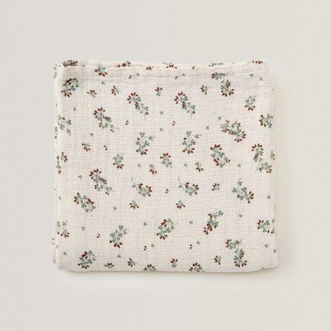 【入荷次第販売予定】Clover Muslin Swaddle Blanket
