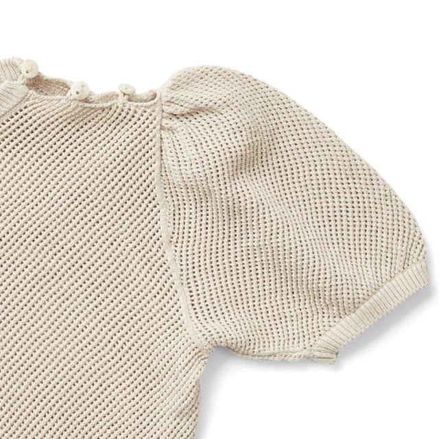 Mimi Knit Top Milk img3
