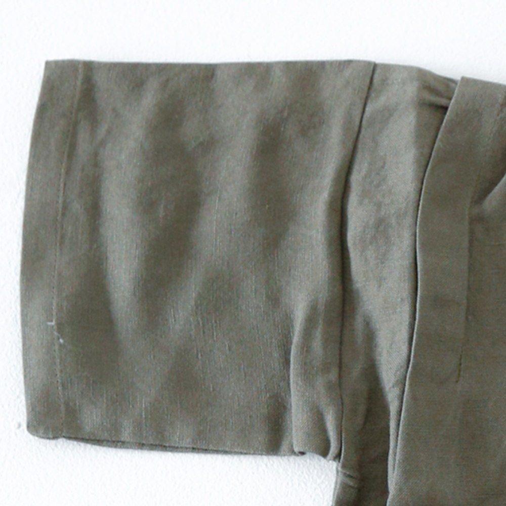 Linen Jinbei Separate Khaki img2