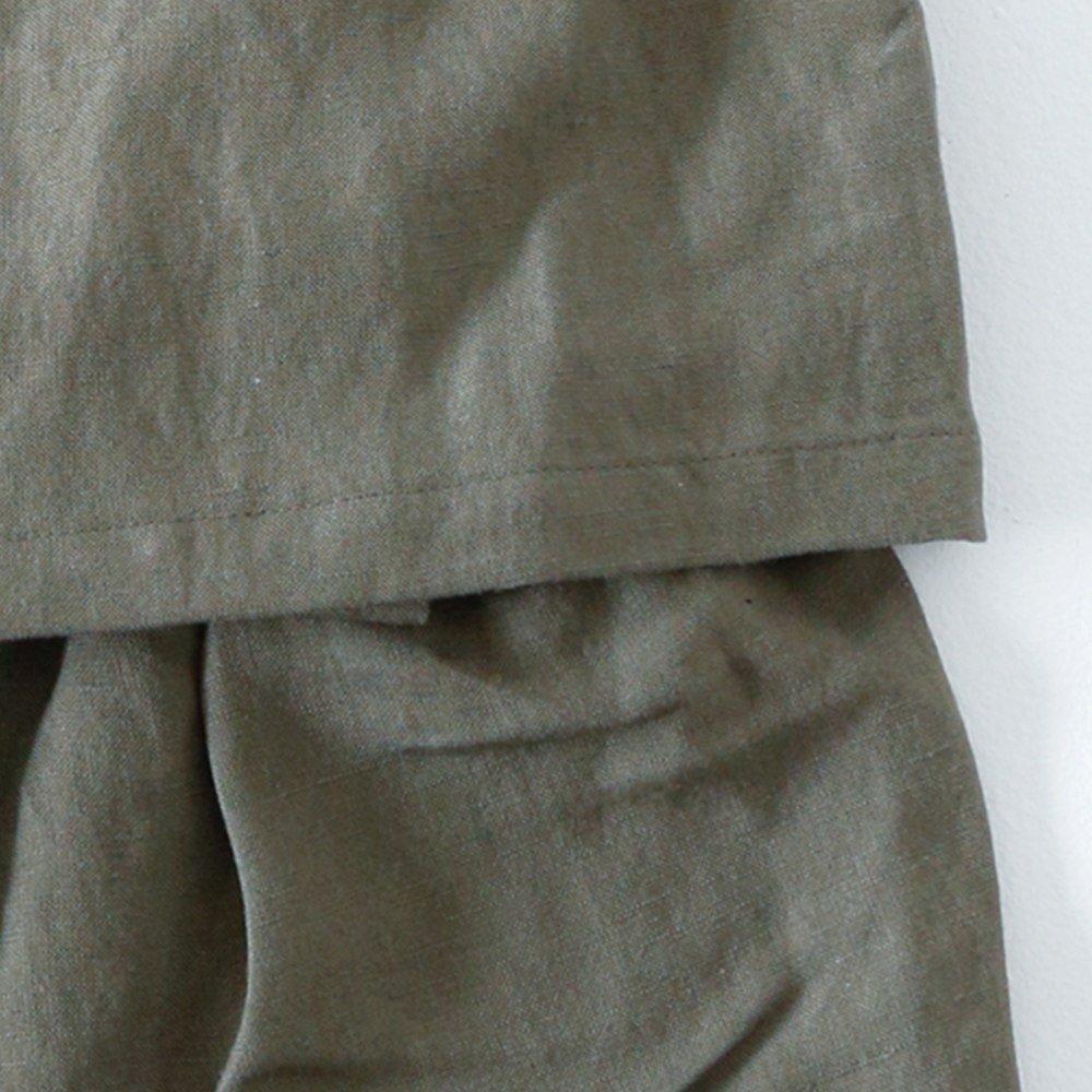 Linen Jinbei Separate Khaki img5