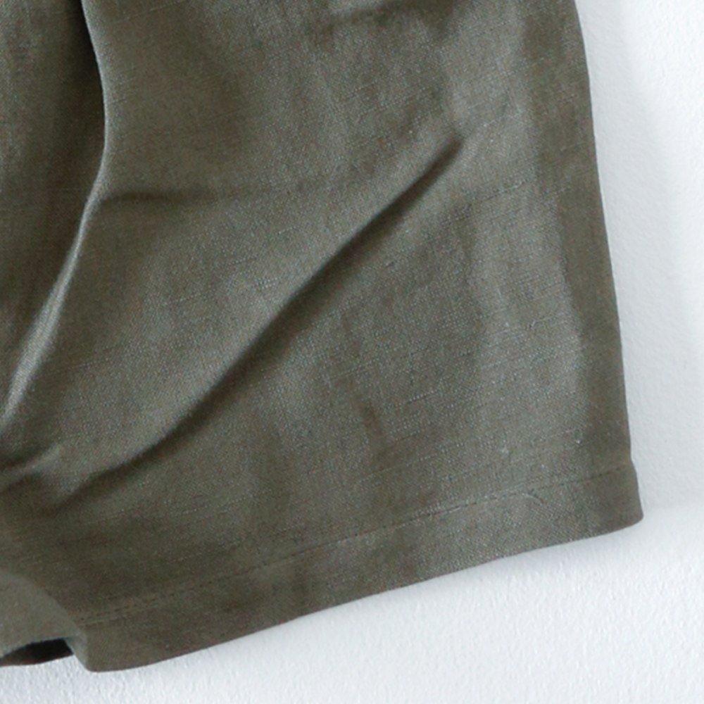 Linen Jinbei Separate Khaki img6