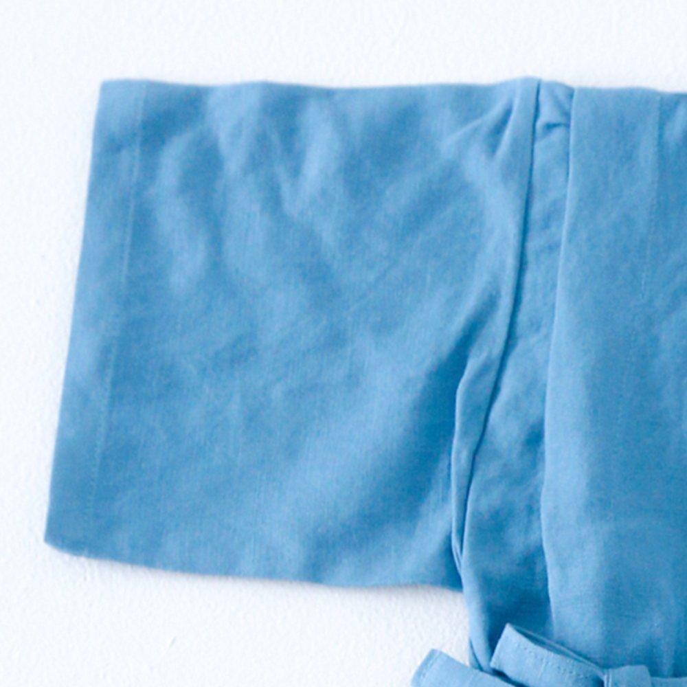 【40%OFF】Linen Jinbei Separate Blue img2