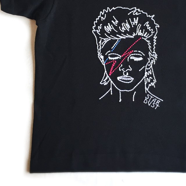 STAR DUST T-Shirt black img2