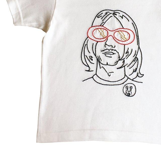 NEVER MIND T-Shirt white img2