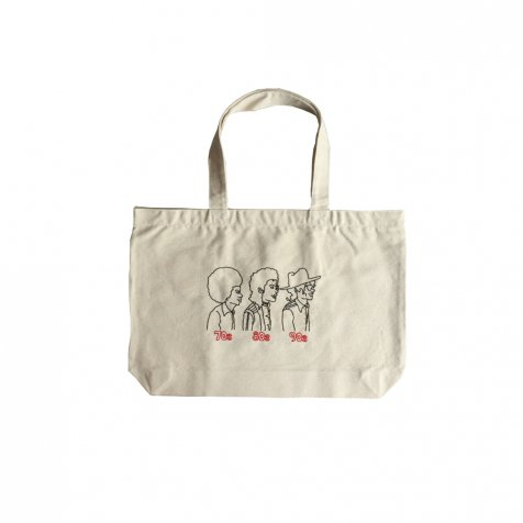 EMBROIDERED BIG TOTE BAG 70s80s90s