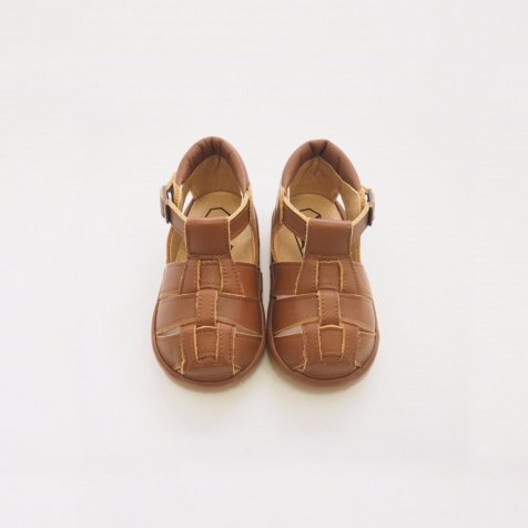 Lame Sandal BROWN