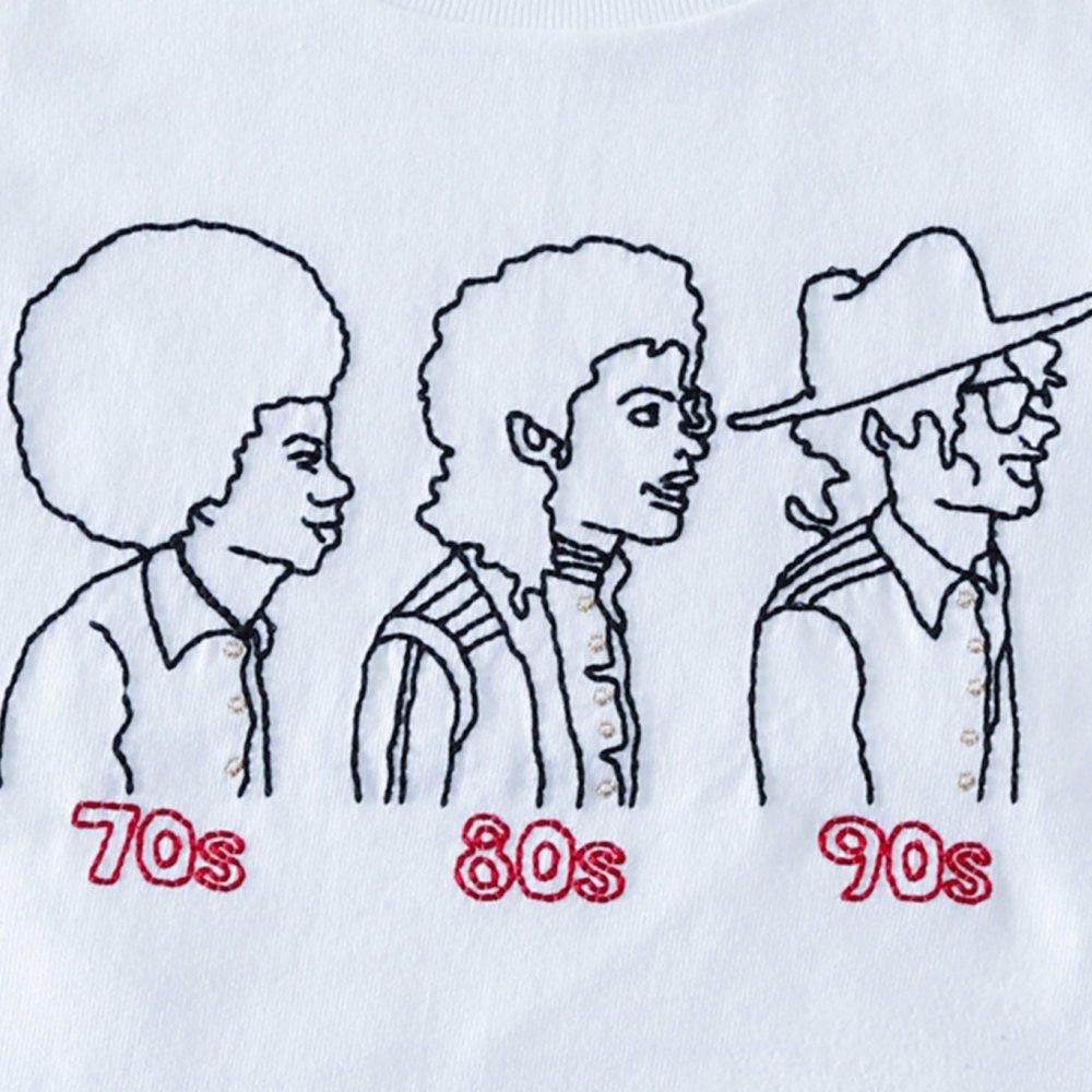 【大人サイズオーダー受付・未定】70s 80s 90s T-Shirt white img1