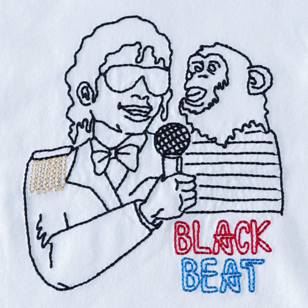 【大人サイズオーダー受付・未定】BLACKBEAT T-Shirt white img1