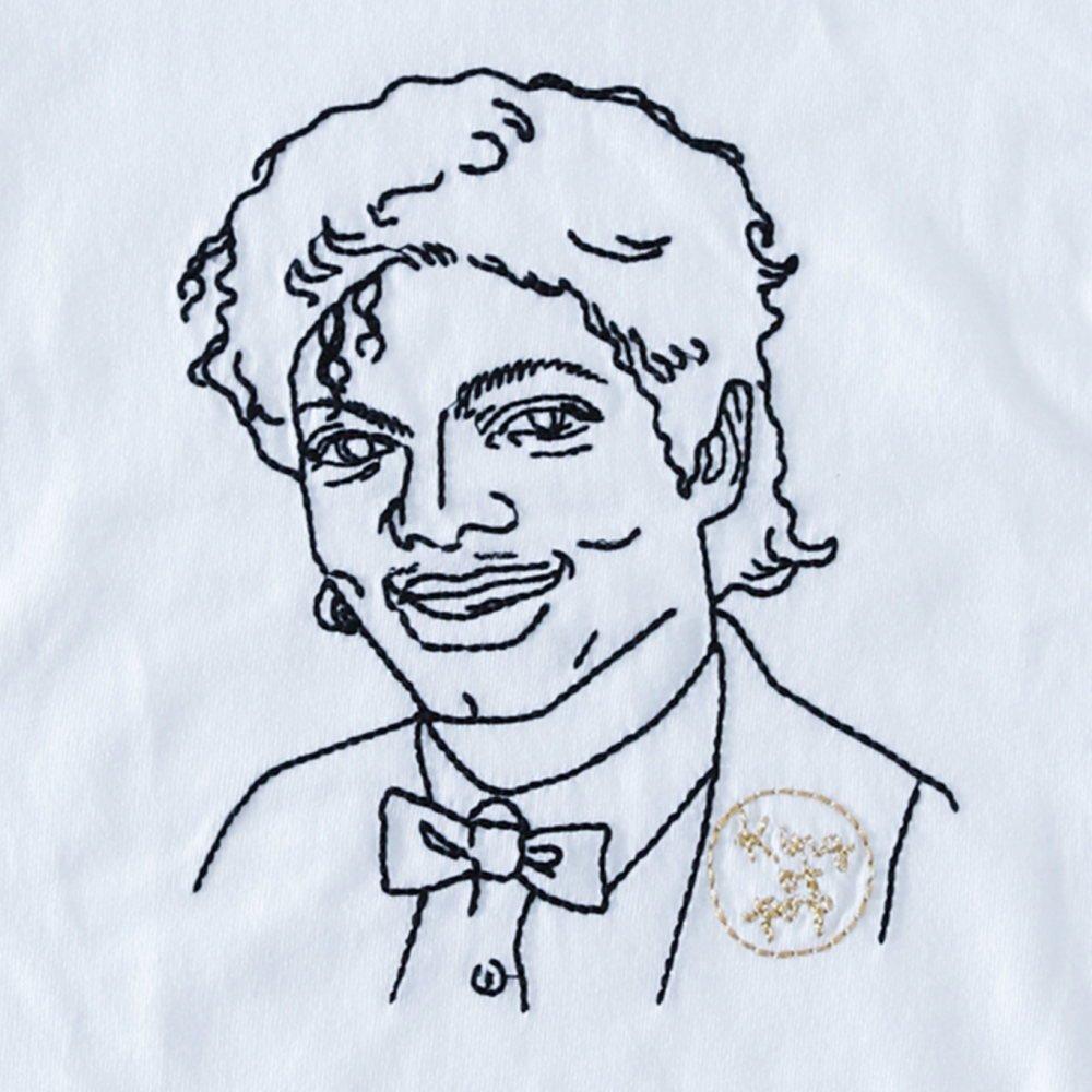 【大人サイズオーダー受付・未定】KING OF POP T-Shirt white img1