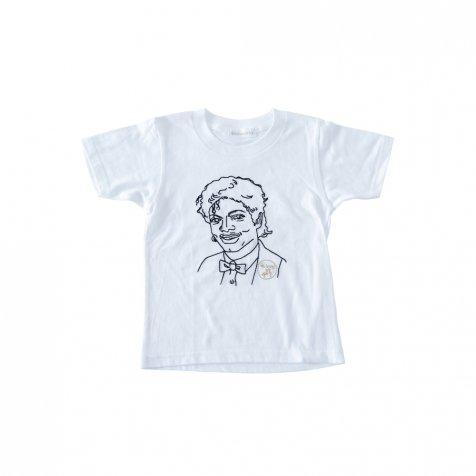 【大人サイズオーダー受付・5/14まで】KING OF POP T-Shirt white