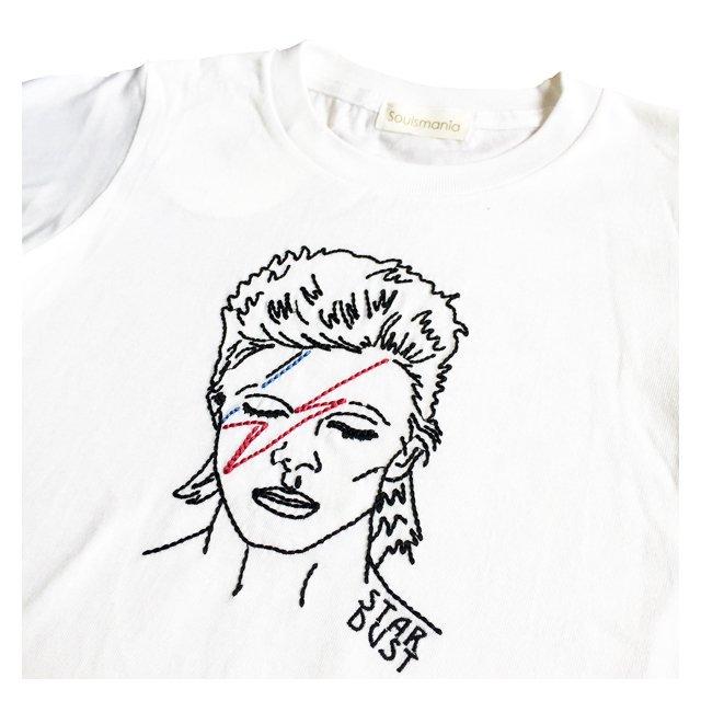 【大人サイズオーダー受付・未定】STAR DUST T-Shirt white img1