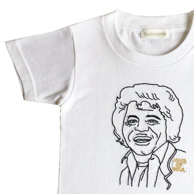 【大人サイズオーダー受付・未定】KING OF SOUL T-Shirt white img1