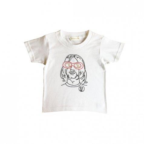 【大人サイズオーダー受付・5/14まで】NEVER MIND T-Shirt white