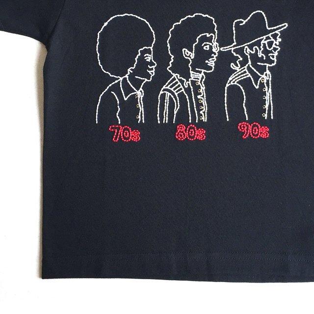 【大人サイズオーダー受付・未定】70s 80s 90s T-Shirt black img2