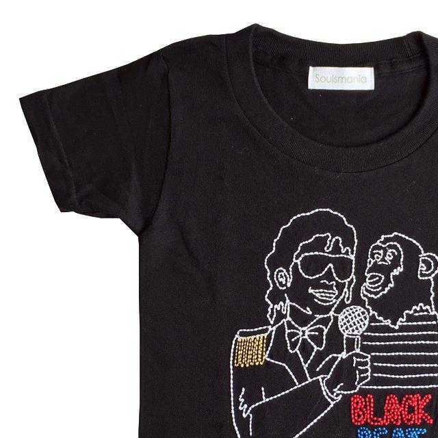 【大人サイズオーダー受付・未定】BLACKBEAT T-Shirt black img1