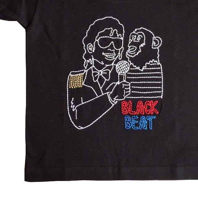 【大人サイズオーダー受付・未定】BLACKBEAT T-Shirt black img2